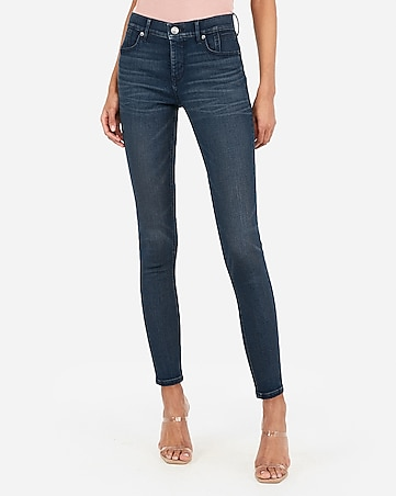 mid rise denim perfect curves lift ankle leggings
