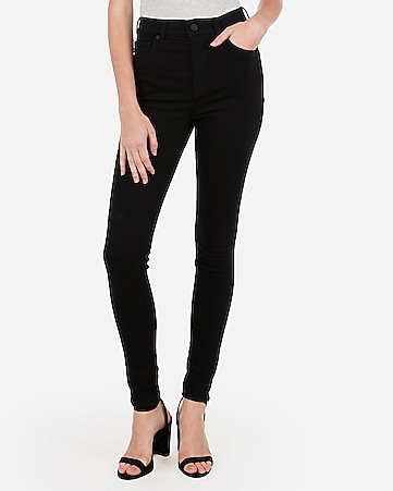 super high waisted black legging