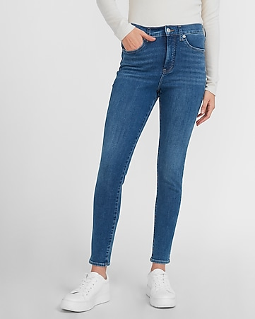 Women S Jeans Skinny Mom High Waisted Jeans Express