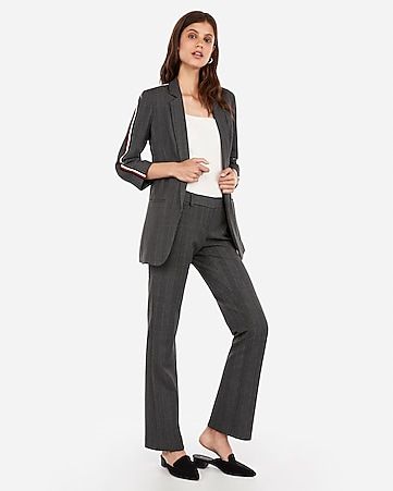 b0b068372d62 Plaid Barely Boot Columnist Pant Suit