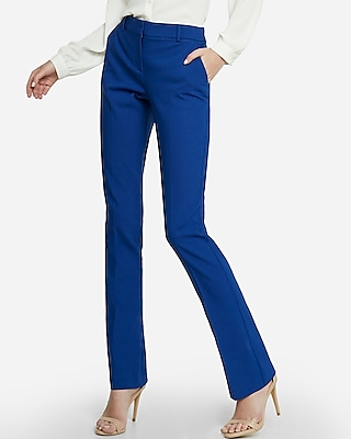Womens Blue Dress Pants HBDWNAo8