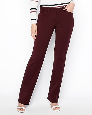 petite low rise barely boot editor pant