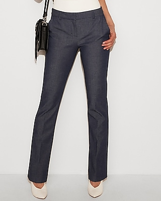 petite mid rise barely boot columnist pant