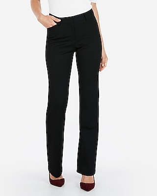 Express View · mid rise barely boot curve pant