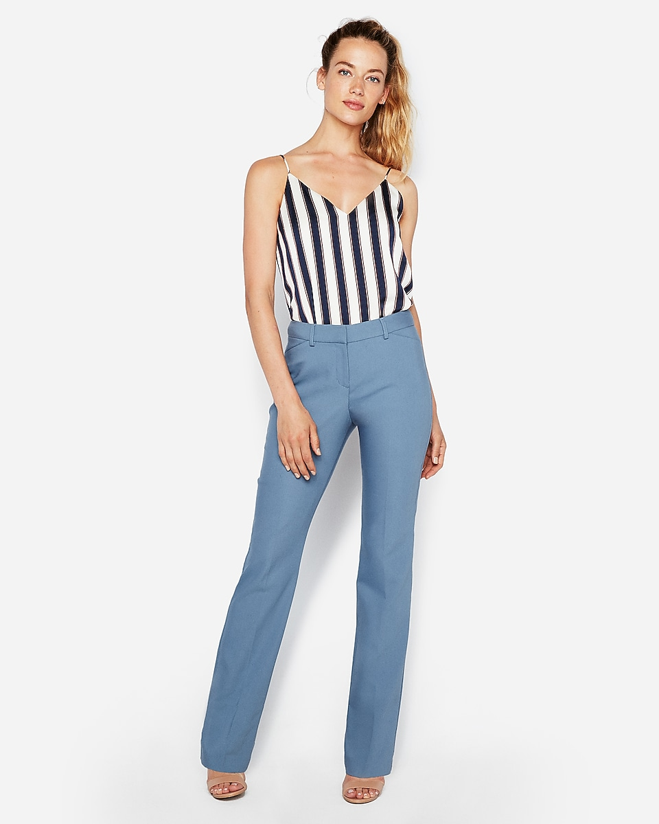 Mid Rise Barely Boot Publicist Pant   Express