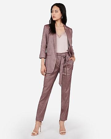 5dd06b262d0 Chianti Linen-blend Sash Tie Ankle Pant Suit