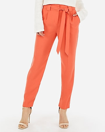 57d057ec75e853 Women's Paperbag Waist Pants, Shorts & Skirts. 1-51 of 51. Express View ·  high waisted sash tie ankle pant