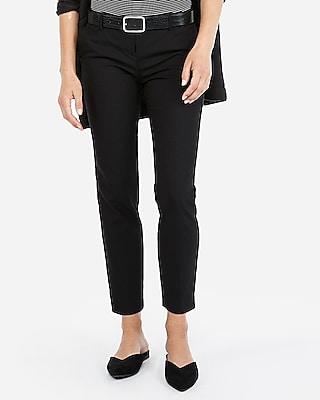 Womens Black Ankle Pants mkqLvkO1