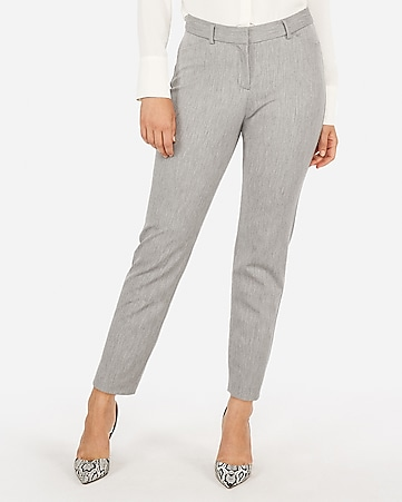 Womens Ankle Dress Pants Express