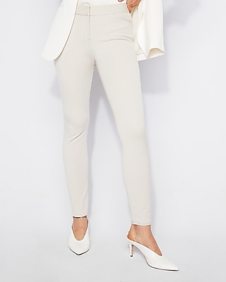 Mid Rise Performance Stretch Ankle Leggings by Express
