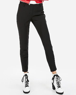 petite mid rise extreme stretch pull-on ankle leggings