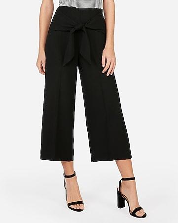 c2c0d000d6da Women s Dress Pants - Culotte and Cropped Dress Pants - Express