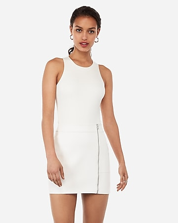 149236909e Express View · high waisted (minus the) leather zip mini skirt