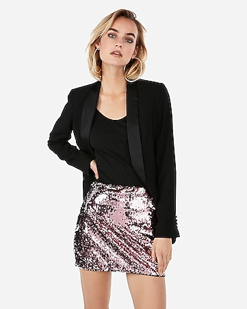 Express View · two way sequin mini skirt 96b267bcf