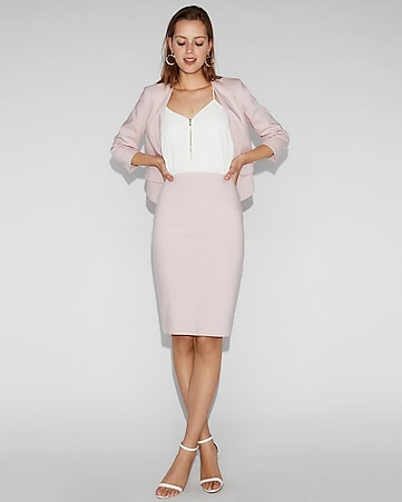 6f015d67e73 Express View · high waisted clean front pencil skirt