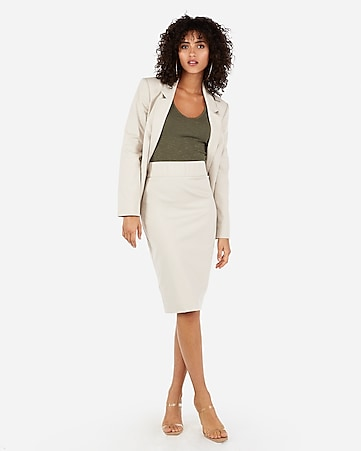 e3d0d921b Express View · MVMNT high waisted pencil skirt