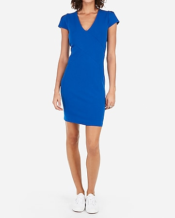 44bf3eeb228c Express View · tulip sleeve sheath dress
