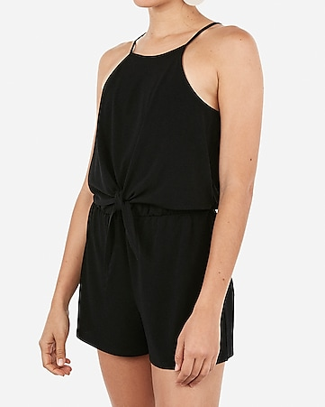 db7240a20be7 express view · tie front flounce romper
