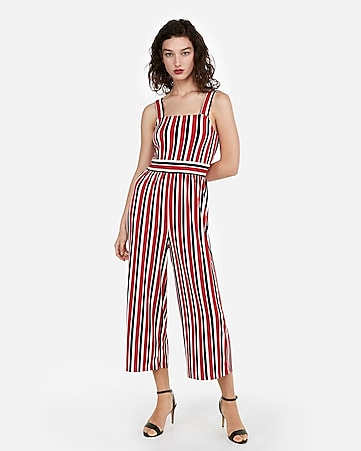 9e8d4533bc25 express view · stripe square neck jumpsuit