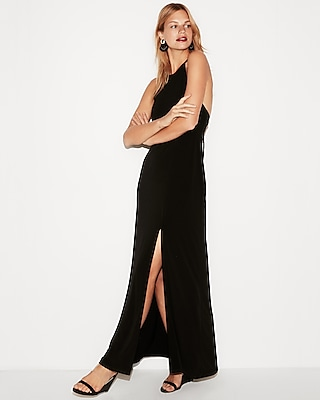 Express View · High Slit Maxi Dress