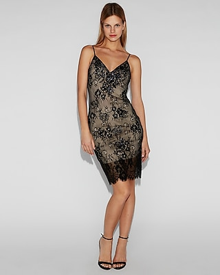 embellished-floral-lace-cami-dress by express