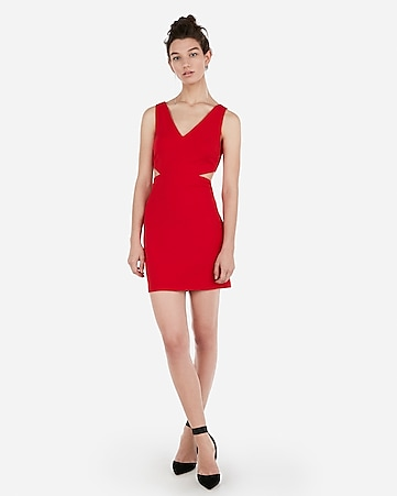 express view · side cut-out mini sheath dress 85fa3d668
