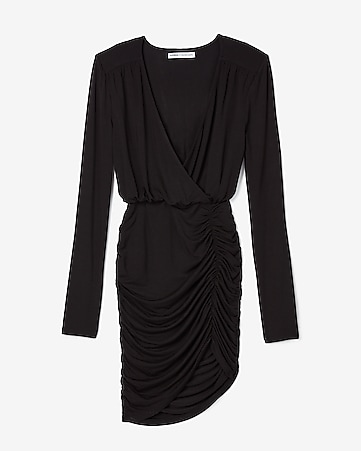 408eeec23e Express View · olivia culpo asymmetrical surplice sheath dress
