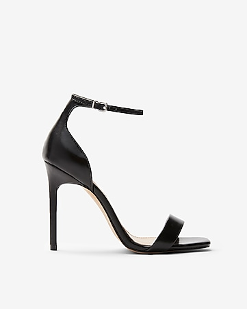 f561bcc477fe Square Toe Heeled Sandals