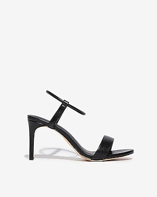 Elastic Strap Low Heeled Sandals by Express