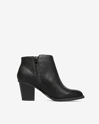 Heeled Ankle Booties by Express