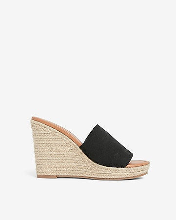 6c034572a5 Slingback Cork Wedge Sandals | Express