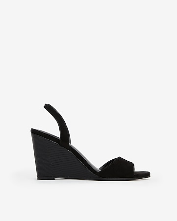 89185d0768 Express View · slingback wedge sandals