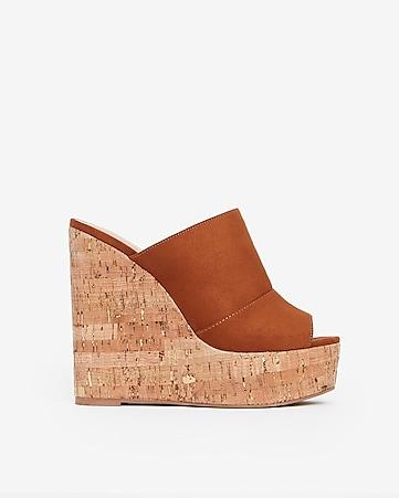906fbba1560 Women's Wedge Sandals - Cork & Espadrille Wedges - Express
