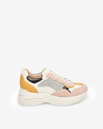 bc44ae3dc2c Steve Madden Weston Suede Wedge Sneakers