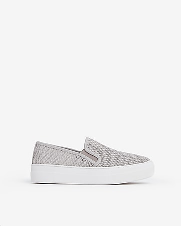 8a6cc3c4c19 steve madden mesh gills slip-on sneakers. EXPRESS VIEW