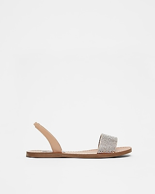 Steve Madden Rock White Sandals