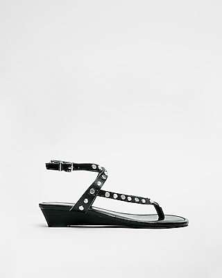Express.com deals on Express Slim Wedge Sandals for Womens