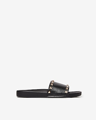 Studded Slide Sandals by Express