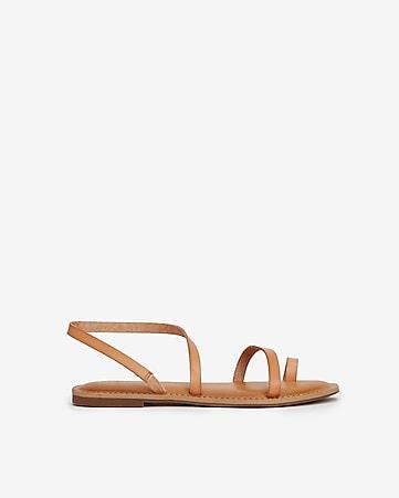 8eb20655f130 Express View · asymmetrical toe ring slingback sandals
