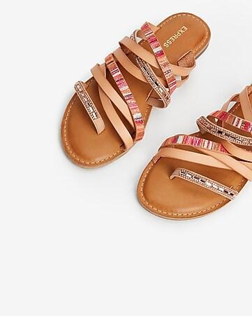a97b32a70 Express View · multi-strap slide sandals