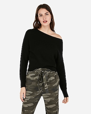 Ribbed Pullover Sweater by Express