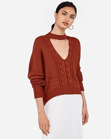 c74b732ec9dbf7 Women's Sweaters & Cardigans - Oversized, Off the Shoulder ...