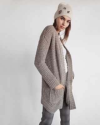 textured cozy chenille cover-up