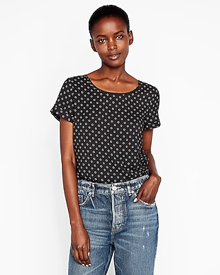 Microdot Gramercy Tee by Express