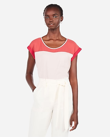 0f13a809 Express View · color block gramercy tee