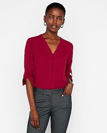 Womens Shirts Button Up Fashion Shirts
