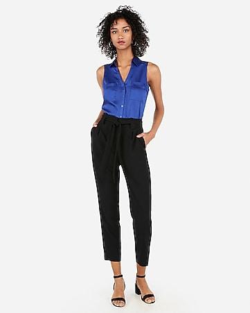 d7d323df9bd82 satin slim fit sleeveless portofino shirt
