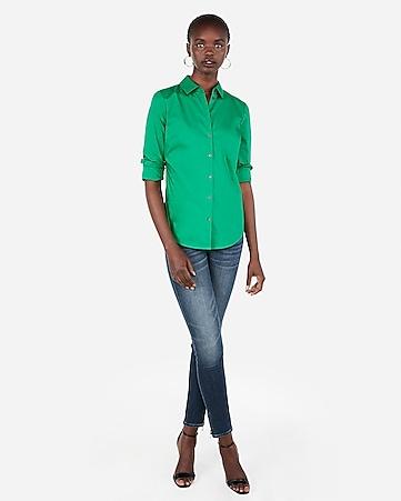 Women s Tops - Fashion   Button Up Shirts for Women - Express e13bc24fc