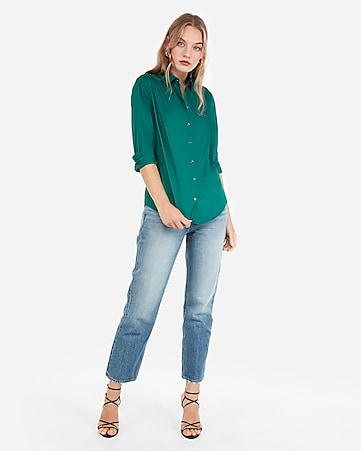 3cb6649342 Women s Tops - Fashion   Button Up Shirts for Women - Express