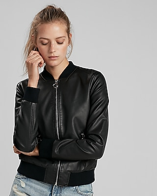 Faux Leather Jackets - 40% Off Everything!